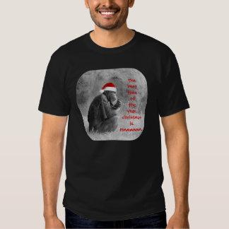 "Cute Christmas Shirt ""Yoda-like"" Chimp!"