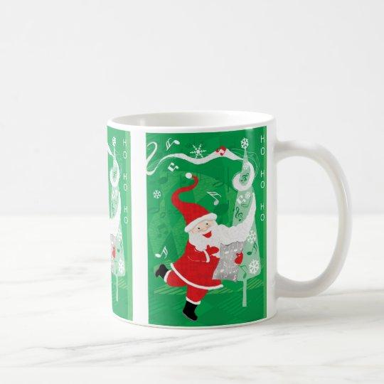Cute Christmas, Singing and Dancing Santa Claus Coffee