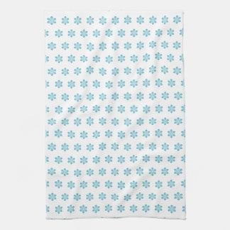 Cute Christmas Snowflake Kitchen Towel
