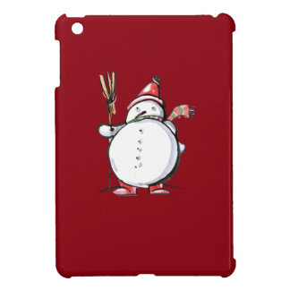 Cute Christmas Snowman iPad Mini Cover
