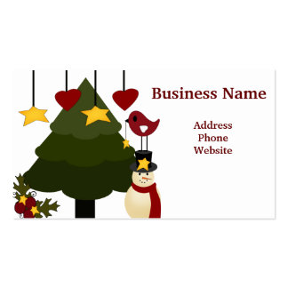 Cute Christmas Store Discount Promotion Sale Cards Pack Of Standard Business Cards