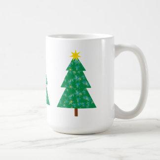 Cute Christmas Tree Basic White Mug