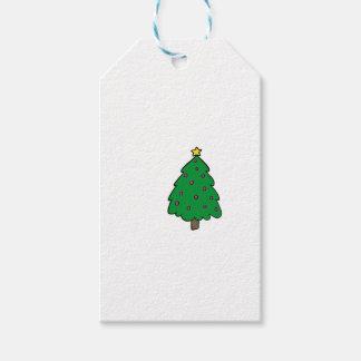 CUTE CHRISTMAS TREE GIFT TAGS