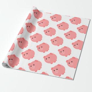 Cute Chubby Pig Gift Wrap