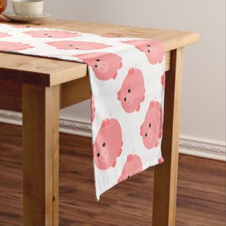 Cute Chubby Pig Table Runner