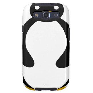 Cute chubby simple penguin samsung galaxy SIII case