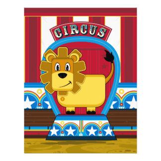 Cute Circus Lion Flyer