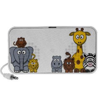 Cute Clipart Jungle Animal Speakers