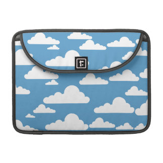Cute Clouds Sleeve For MacBooks