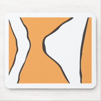 Cute Clown Fish Orange Skin Pattern Mouse Pad