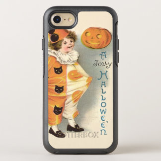Cute Clown Jack O Lantern Pumpkin OtterBox Symmetry iPhone 7 Case