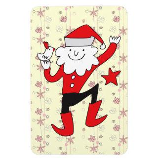 Cute Clown Santa Claus Rectangle Magnet