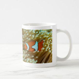 Cute Clownfish and Sea Anemone Coffee Mug