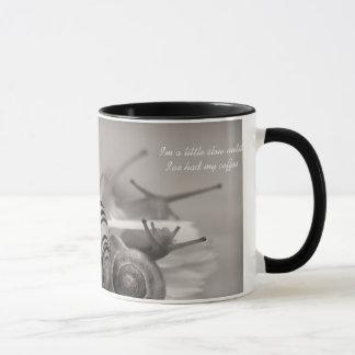 Cute Coffee Sayings Slow Snail Mug