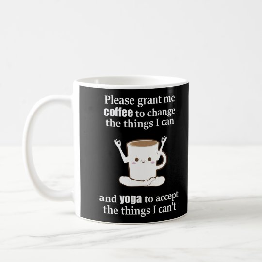 cute Coffee & Yoga Coffee Mug