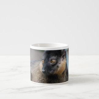 Cute Collared Lemur Espresso Cup