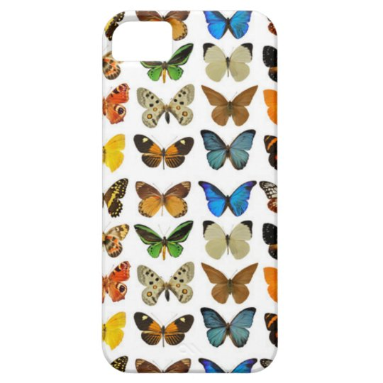 CUTE COLOFUL BUTTERFLIES BARELY THERE iPhone 5 CASE