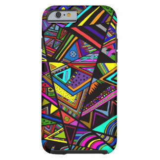 Cute colorful abstract drawing patterns design tough iPhone 6 case