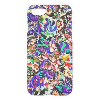 Cute colorful abstract painting iPhone 8/7 case