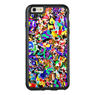 Cute colorful abstract painting OtterBox iPhone 6/6s plus case