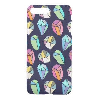 Cute Colorful Crystals Hand Hade Pattern iPhone 8 Plus/7 Plus Case