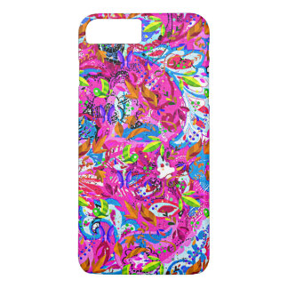 Cute colorful fantastic abstract floral iPhone 8 plus/7 plus case