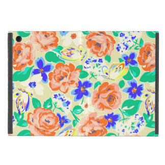 Cute colorful floral pattern iPad mini cover