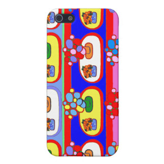 Cute Colorful Flower Pot i Gift Cases For iPhone 5