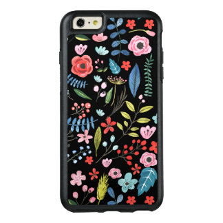 Cute Colorful Flowers Pattern OtterBox iPhone 6/6s Plus Case