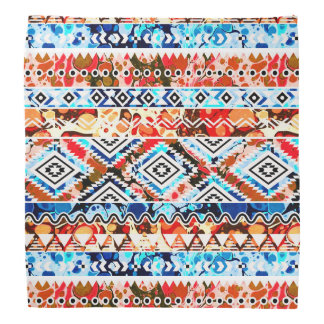 Cute colorful girly aztec patterns do-rag