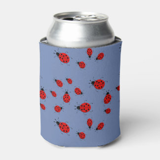 Cute colorful ladybugs clip art can cooler