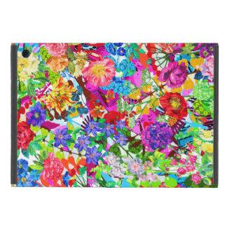 Cute colorful magic flowers iPad mini case
