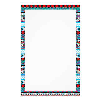 Cute colorful navajo patterns customized stationery