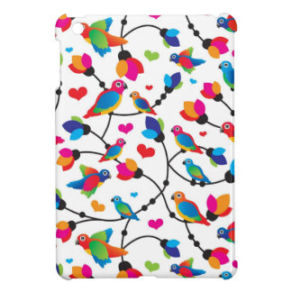 cute colorful parrot bird case for the iPad mini