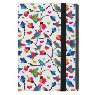 cute colorful parrot bird iPad mini case
