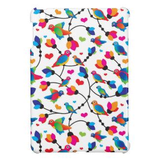 cute colorful parrot bird iPad mini covers