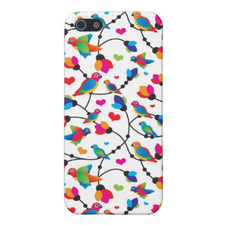 cute colorful parrot bird iPhone 5 cover
