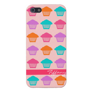 Cute colorful pastel cupcakes iphone 5 case