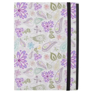 "Cute colorful pastel paisley patterns iPad pro 12.9"" case"