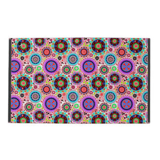 Cute colorful seamless decorative design iPad case