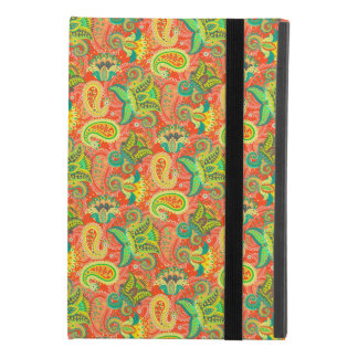 Cute colorful seamless paisley pattern iPad mini 4 case