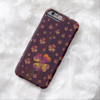 Cute Colorful Shamrocks Barely There iPhone 6 Case