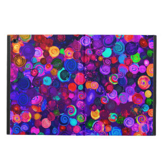 Cute colorful spiral cosmos patterns
