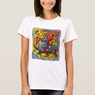 Cute Colorful Tiger T-Shirt