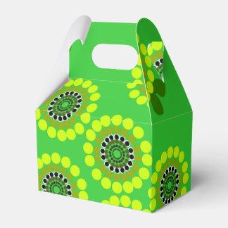 Cute colorfull floral favour box