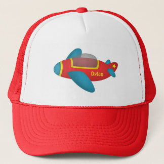 Cute Colourful Aeroplane Jet for Kids Trucker Hat