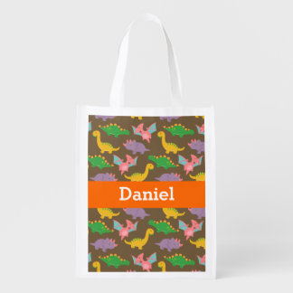 Cute Colourful Dinosaur Pattern for Kids