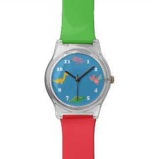 Cute Colourful Dinosaurs for Kids Watches