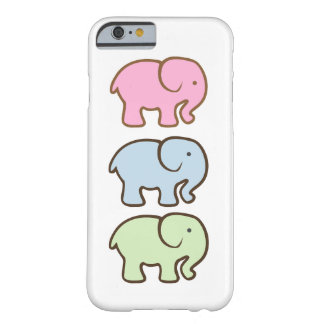 Cute Colourful Elephants - iPhone 6 Phone Case