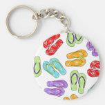 Cute Colourful Flip Flops Print